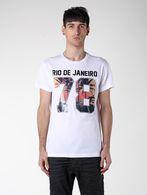 DIESEL SO14-T-RIODEJANEIRO T-Shirt U a