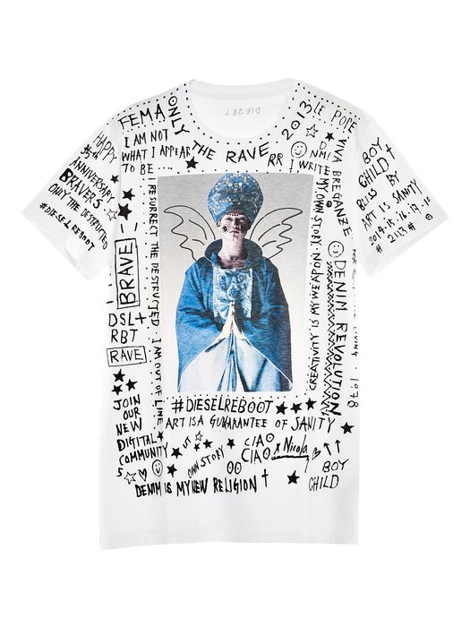 DIESEL REBOOT-T-BLISS Camiseta E f