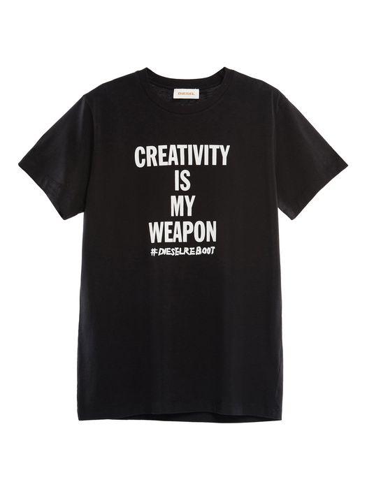 DIESEL REBOOT-T-CREATIVITY T-Shirt E f