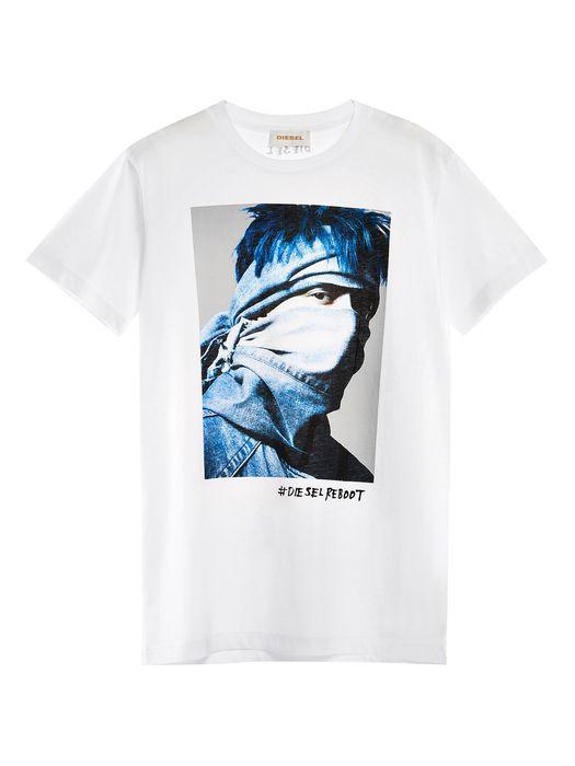 DIESEL REBOOT-T-REBEL T-Shirt E e