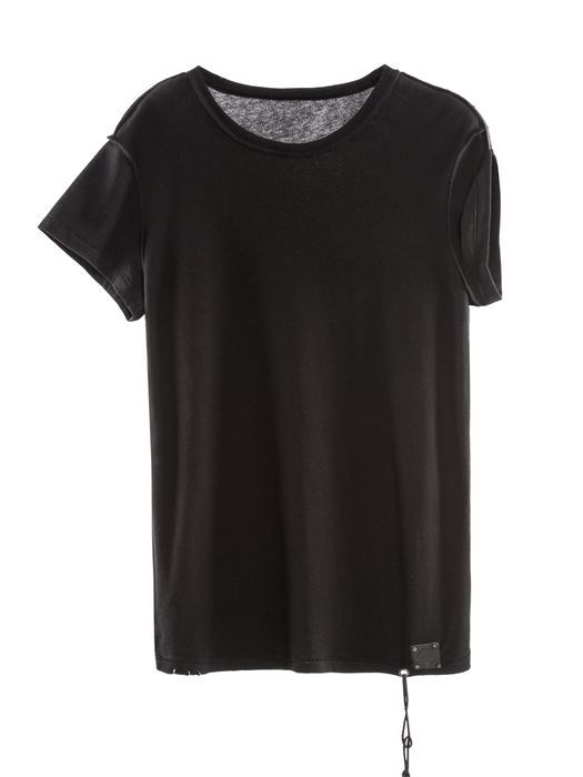 DIESEL REBOOT-BLACK-T-SHIRT T-Shirt D f