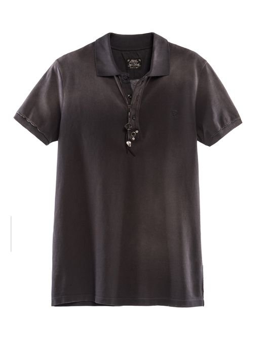 DIESEL REBOOT-BLACK-POLO Polo U r