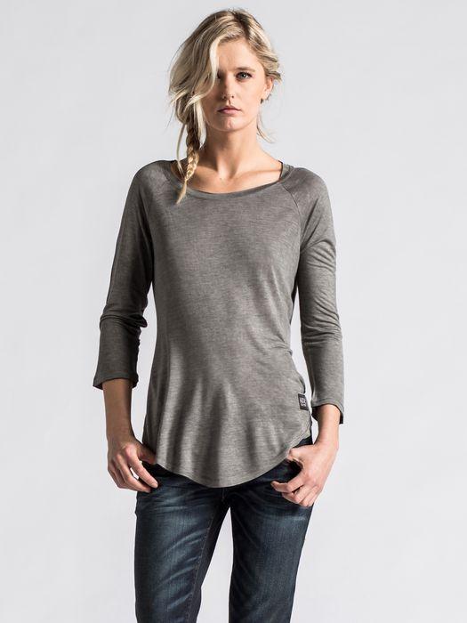 DIESEL T-DAPHNE-LS-A T-Shirt D f