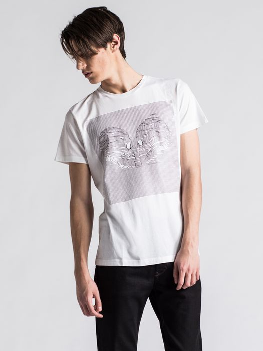 DIESEL T-JOY T-Shirt U f