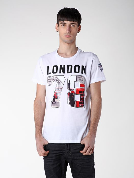 DIESEL SO14-T-LONDON Camiseta U a