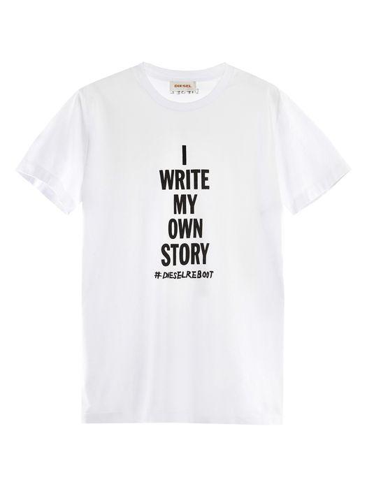 DIESEL REBOOT-T-MY-OWN-STOR T-Shirt E f
