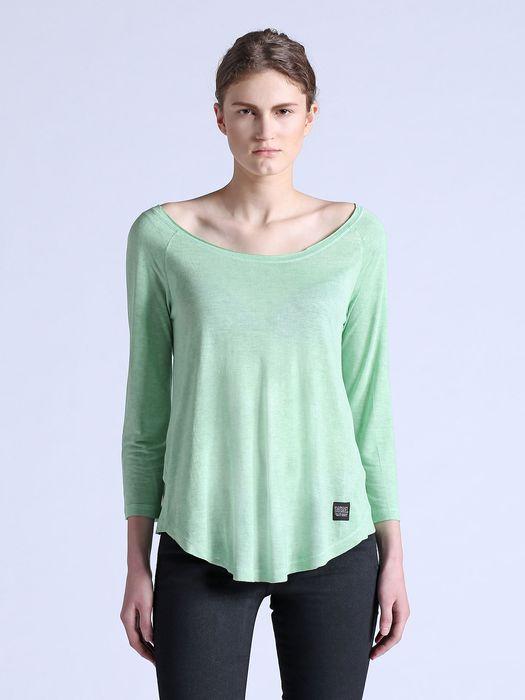 DIESEL T-DAPHNE-LS-B T-Shirt D f
