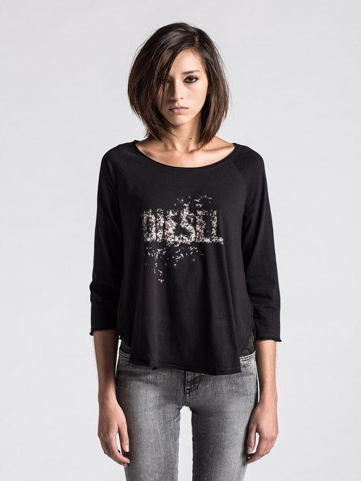 DIESEL T-DAPHNE-LS-C T-Shirt D f