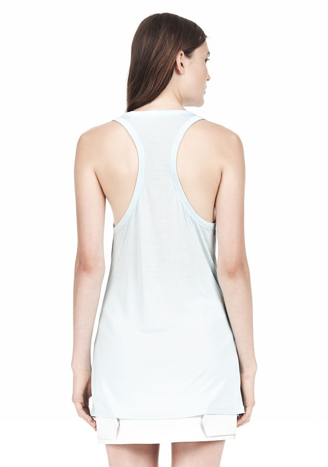 T by ALEXANDER WANG TANK WITH POCKET TOP Adult 12_n_d