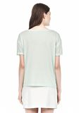T by ALEXANDER WANG SINGLE JERSEY SHORT SLEEVE TEE Short sleeve t-shirt Adult 8_n_d
