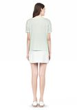 T by ALEXANDER WANG SINGLE JERSEY SHORT SLEEVE TEE Short sleeve t-shirt Adult 8_n_r