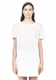 T by ALEXANDER WANG SINGLE JERSEY SHORT SLEEVE TEE Short sleeve t-shirt Adult 8_n_e