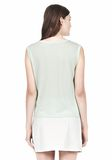 T by ALEXANDER WANG SINGLE JERSEY MUSCLE TEE TOP Adult 8_n_d