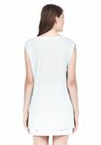 T by ALEXANDER WANG MUSCLE TEE WITH POCKET TOP Adult 8_n_d