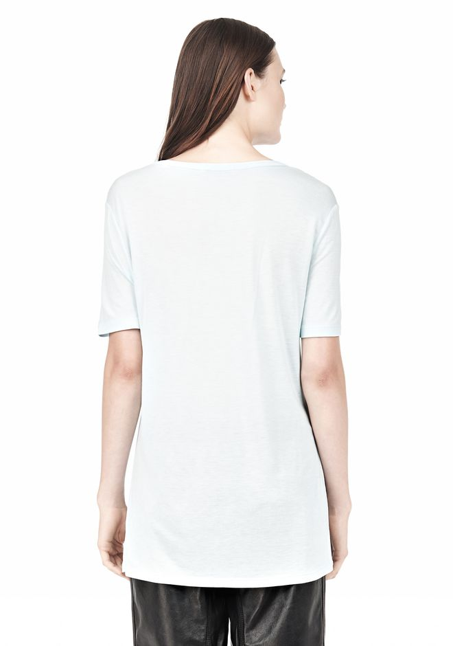 T by ALEXANDER WANG TEE WITH POCKET Short sleeve t-shirt Adult 12_n_d