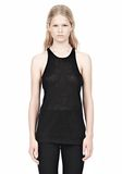 T by ALEXANDER WANG LINEN SILK JERSEY TANK TOP Adult 8_n_e
