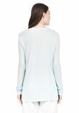 T by ALEXANDER WANG LONG SLEEVE TEE WITH POCKET LONG SLEEVE TEE/DEL Adult 8_n_d