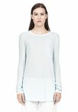 T by ALEXANDER WANG LONG SLEEVE TEE WITH POCKET LONG SLEEVE TEE/DEL Adult 8_n_e