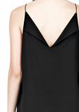 T by ALEXANDER WANG SILK SQUARE NECK SLIP DRESS Short Dress Adult 8_n_a