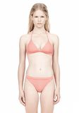 T by ALEXANDER WANG TRIANGLE BIKINI TOP WITH TIE AND BACK CLOSURE Swimwear Adult 8_n_e