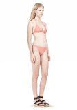 T by ALEXANDER WANG TRIANGLE BIKINI TOP WITH TIE AND BACK CLOSURE Swimwear Adult 8_n_r