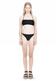 T by ALEXANDER WANG SWIM MATTE JERSEY BANDEAU WITH TRIANGLE T STRAPS Swimwear Adult 8_n_f