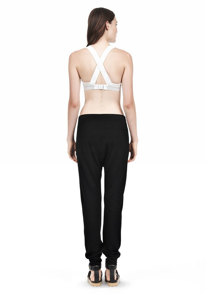 T by ALEXANDER WANG CRISS CROSS BRA TOP Adult 12_n_r