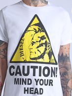 DIESEL T-CAUTION Camiseta U a