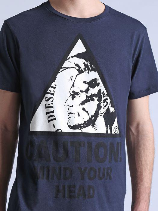 DIESEL T-CAUTION T-Shirt U a