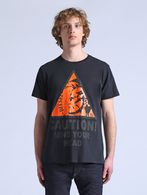 DIESEL T-CAUTION Camiseta U f
