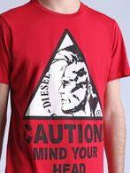 DIESEL T-CAUTION T-Shirt U a