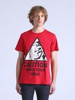 DIESEL T-CAUTION T-Shirt U f