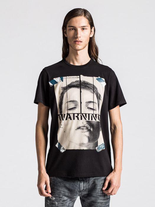 DIESEL T-WARNFACE T-Shirt U f
