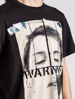 DIESEL T-WARNFACE Camiseta U a