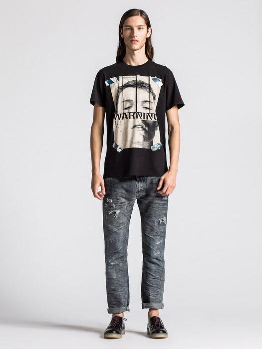 DIESEL T-WARNFACE Camiseta U r