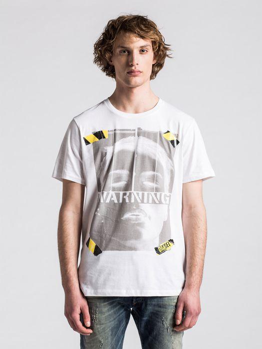 DIESEL T-WARNFACE Camiseta U f