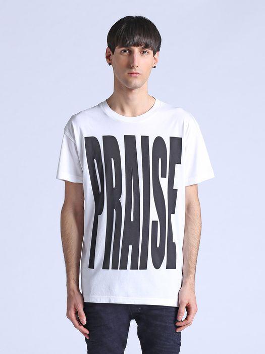 DIESEL T-PRAISE Camiseta U f
