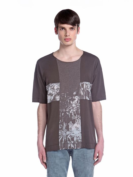 DIESEL BLACK GOLD TERESIO-FLOWERS T-Shirt U f
