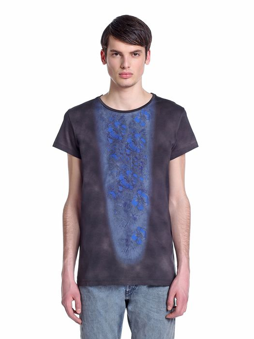 DIESEL BLACK GOLD TENNESI-FLOWERS T-Shirt U f