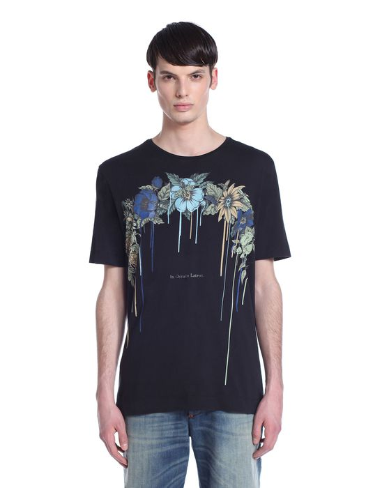 DIESEL BLACK GOLD TORICIY-FLORALARCH T-Shirt U f
