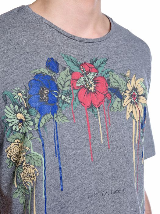 DIESEL BLACK GOLD TORICIY-FLORALARCH T-Shirt U a