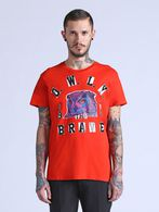 DIESEL T-CROWN Camiseta U f