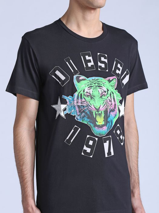 DIESEL T-THE-KING Camiseta U a