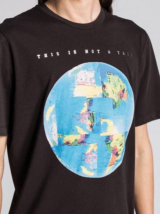 DIESEL T-MOND Camiseta U a