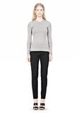 ALEXANDER WANG RIBBED PULLOVER WITH PINCHED DARTS TOP Adult 8_n_f