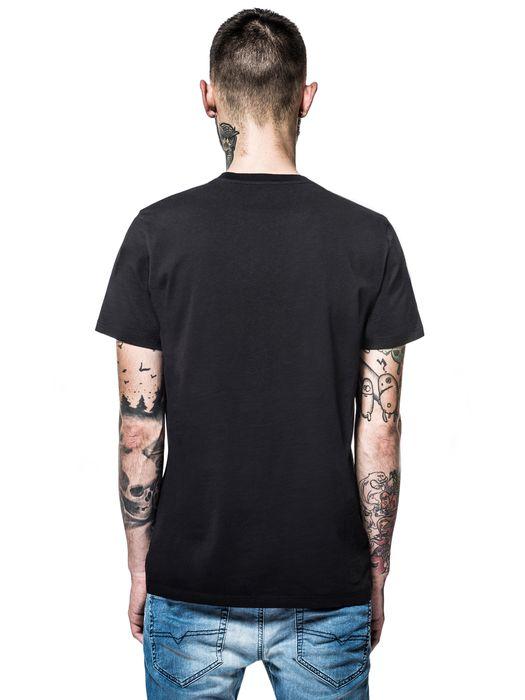 DIESEL REBOOT-T-SKULL-DAGGE T-Shirt E e