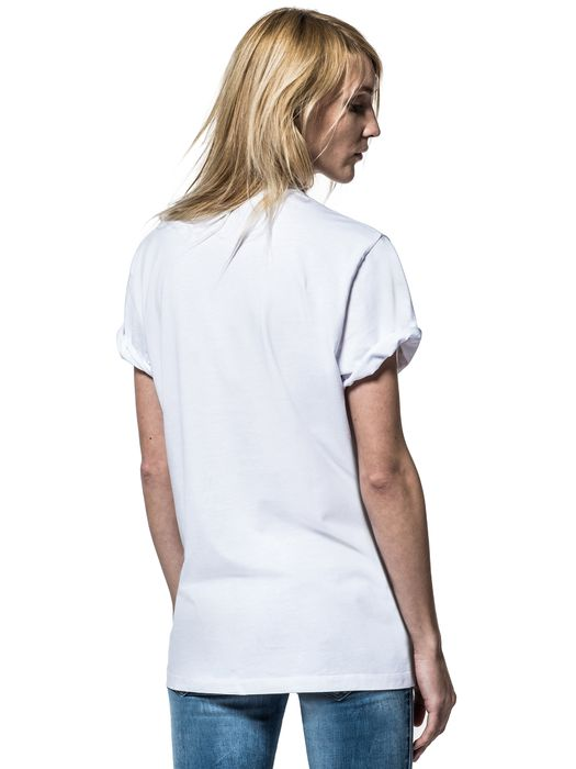 DIESEL REBOOT-T-SKULL-DAGGE T-Shirt E d