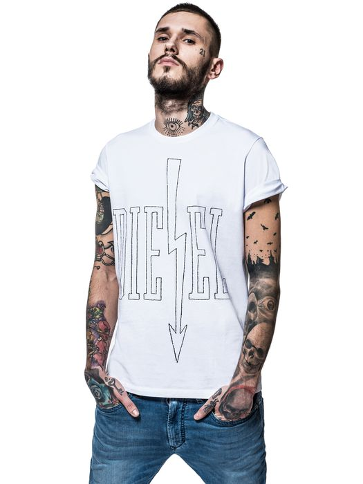 DIESEL REBOOT-T-ARROWS T-Shirt E f
