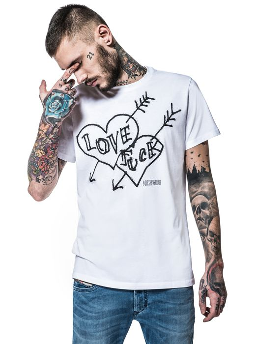 DIESEL REBOOT-T-FREEDOM T-Shirt E f