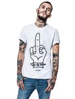 DIESEL REBOOT-T-NOTHING T-Shirt E f